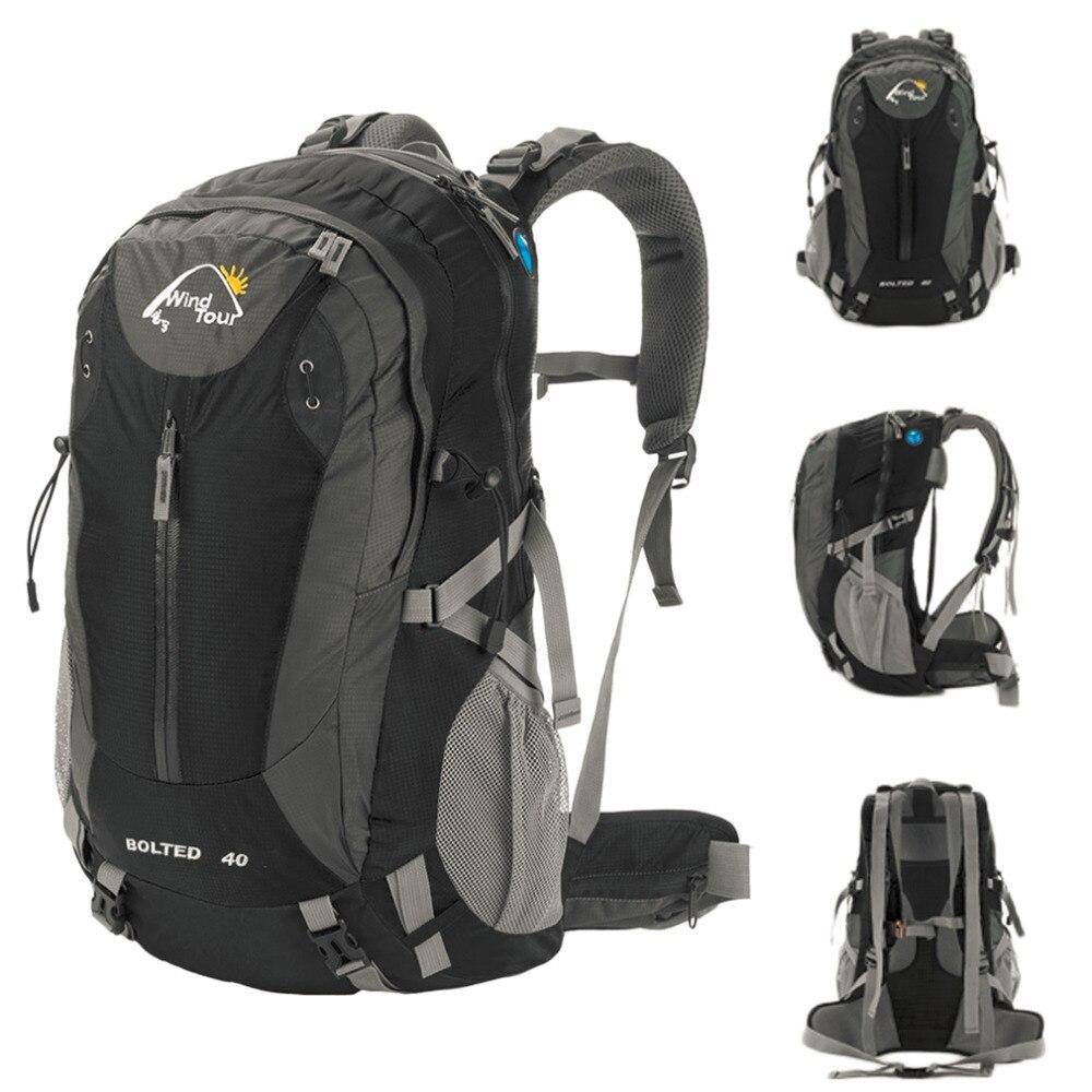 40L Waterproof Backpack Ultralight Outdoor Bicycle Cycling Bike Backpacks Travel Mountaineering Bag Sport Hiking bag rucksack<br>