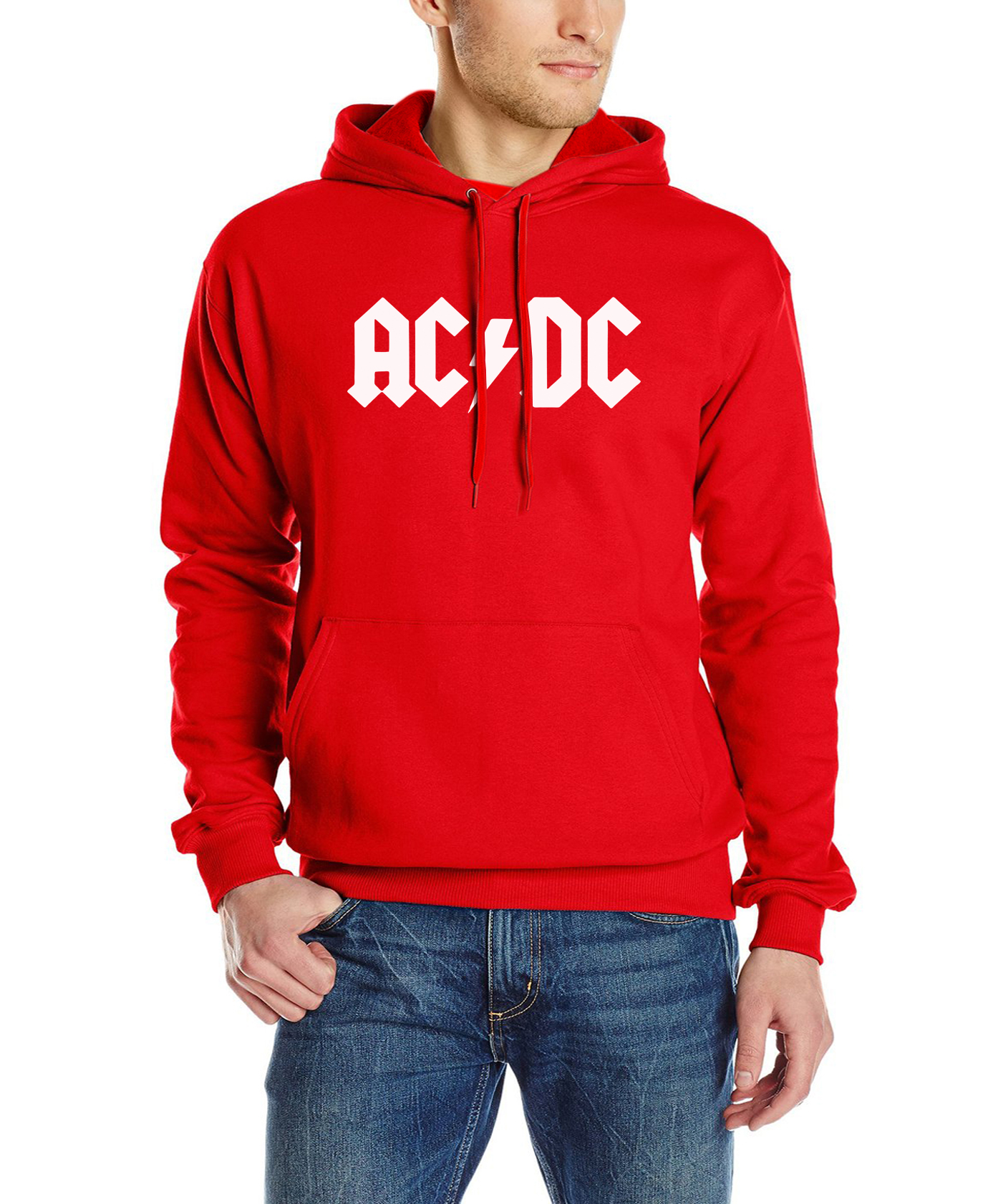 2017 autumn New fashion AC/DC band rock sweatshirt Mens acdc Graphic hooded men Print Casual hoodies hip hop brand tracksuit mma