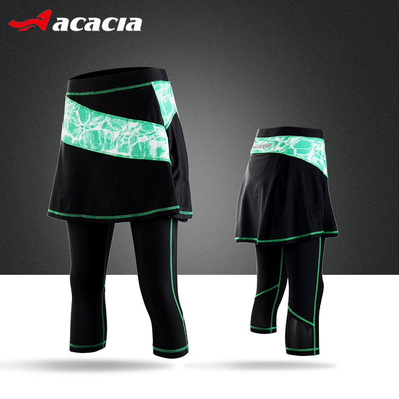 Acacia Bicycle Women Cycling Clothing Red Blue Purple Green Spring Summer Autumn Tights Spandex Skirt Pants 03989<br><br>Aliexpress