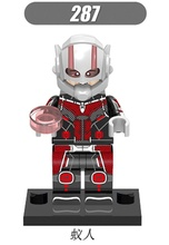 XH 287 Building Blocks Super Heroes Single Sale Antman ANT-MAN Ant Man Movie Assemble Bricks Collection Toys for children Gift(China)