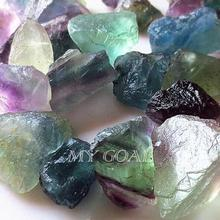 50g Natural Rare Fluorite Crystal Stone Rock Gemstone Specimen Garden Home Decor Random Color Ornaments High Quality