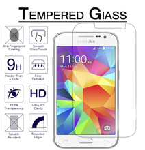 Amazing 9H 0.26mm 2.5D Screen Protector Tempered Glass Film for Samsung Galaxy J1 J3 J5 2016 J7 A3 A5 A7 2016 Protective Films(China)