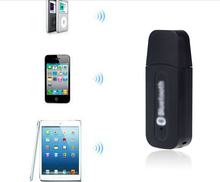Enjoy music Hot Sales USB Bluetooth Music Receiver Adapter 3.5mm Stereo Audio For iPhone 4 5 6 7 M1