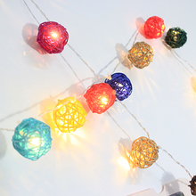 20 Latterns Leds 2.2M Creamy Warm White Fairy String Christmas Lights Outdoor for Weddings Natal Garden Holiday Decoration Multi(China)
