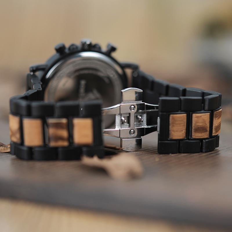 P09   ساعة يد رجالية BOBO BIRD الخشبية الاصلية 6