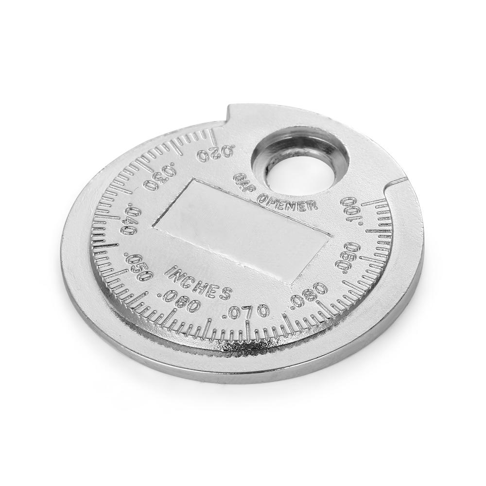 Gap Tool Gauge Ruler Measure Wider Opener Measurement Feeler Spark Plug Quick``