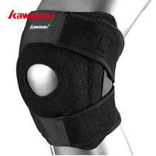 KF-3402 Kawasaki Basketball Knee Pads Breathable Adjustable Elastic Knee Support for Volleyball Gym Sports Safety Guard Strap(China)