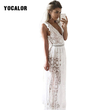 Buy YOCALOR Womens Sexy Dresses Party Night Club High Waist Backless Long Maxi Tank Women Summer Sundress Dress Vestidos Robe for $23.19 in AliExpress store