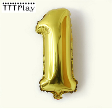 Buy 1pcs/lot 32inch Number Foil Balloon Inflatable Aluminum Air Balls Wedding Decoration Birthday Party Balloon Celebration Supplies for $1.34 in AliExpress store
