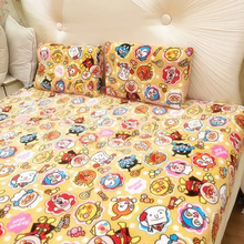 Anpanman cartoon blankets, air conditioning blanket, coral carpet, napping blankets, flannel sheets