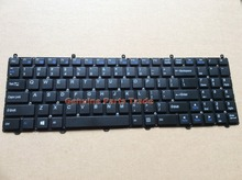 New US balck keyboard For Clevo W650SR W650 W655 W650SJ W6500 Black Without Frame 6-80-W6500-013-1 MP-12N73US-430 1410000228M