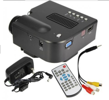Hot Sale HD1080P UC28+ Projector Mini LED Digital Video Game Projectors Multimedia Player Inputs AV VGA USB SD HDMI