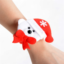 1PC Christmas Wristband Xmas Party Suppliers Home Decor Merry Christmas Party Favors Waiter Sign(China)