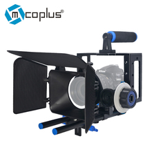 Buy Mcoplus Aluminum Camera Video Cage Kit Movie Kit Film Making System Nikon Pentax Canon Sony DSLR Camera for $113.00 in AliExpress store
