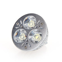 Dimmable 9W MR16 White LED Light Spotlight Lampled LED Bulb 12-24V for halls, bars, office or home(China)