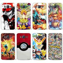 New Pokemons animal anime Clear Case Cover Coque Shell for Samsung Galaxy J1 J2 J3 J5 J7 2016 2017 Emerge