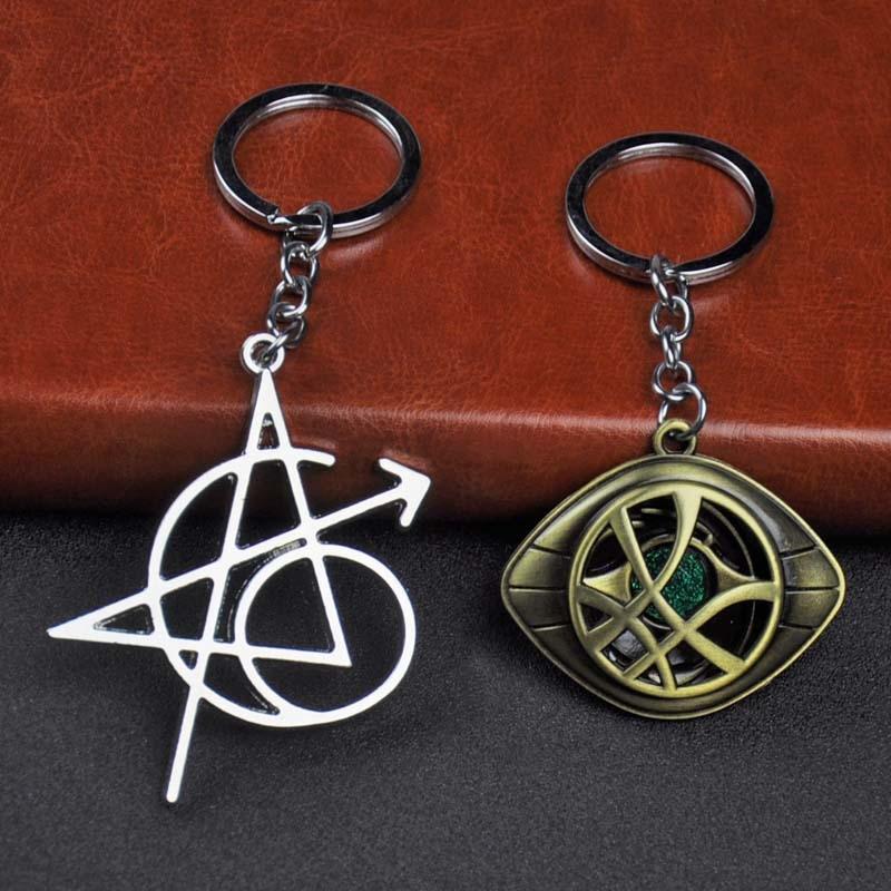 Marvel Avengers Doctor Strange Eye of Agamotto Alloy Key Chain Keychain