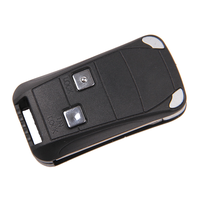 In stock New Folding Flip Remote Key Car Case Shell Fob for Toyota Corolla Tundra Atrix Prius 2 Buttons(China (Mainland))