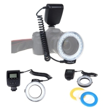 Top Deals Macro LED Ring Flash Light for Canon Nikon Olympus Panasonic DSLR Camera