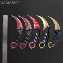 Tactical Combat Karambit Neck Knife Damask Brand High Quality Survival Hunting Bowie Fixed Blade Karambit Knife Tools(China)