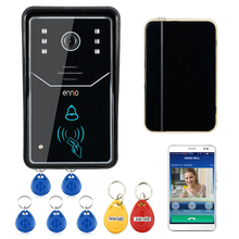 Buy WiFi Video Doorbell Touch Key Wireless Video Door Phone Home Intercom Security System IR RFID Camera Kit for $86.26 in AliExpress store