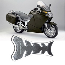 Universal 1pcs Black Free Shipping Carbon Fiber Tank Pad Tankpad Protector Sticker For Motorcycle