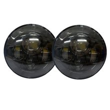 "4x4 Headlamp 7"" round high low beam led headlight 45W H4 Car Led Headlight for Wrangler Jk Off road 7 inch Headlamp"