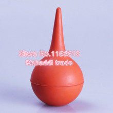 10 pcs/lot 120ml Large medical rubber ear wash ball leather tiger suction ball ear dust blowing ball leather computer dust ball