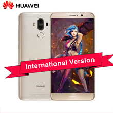 100% Original Huawei Mate 9 4G 32G Android 7.0 Cell Phone 5.9 inch Octa Core Kirin 960 Dual Card Dual Rear Camera 20.0MP+12.0MP