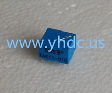 YHDC TAK11-010 20A/0.2A Mini high frequency current transformer 1:100 work voltage 660V PCB Mounted
