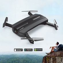 Foldable Drone With Camera Pocket Fpv Quadcopter Rc Drones Phone Control Helicopter Wifi Mini Dron VS JJRC H37 Elfie Selfie Dron