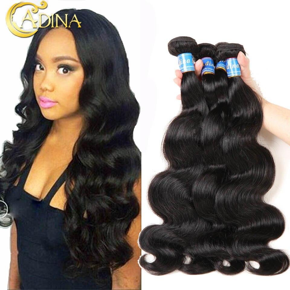 Brazilian Body Wave 4 Bundles Deals Unprocessed 7A Mink Brazilian Body Wave Virgin Human Hair Weave Wet And Wavy Hair Extension<br><br>Aliexpress