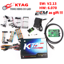 2017 KTAG 2.13 K-TAG V2.13 free ECM Titanium software!!! ECU Programming Master Version No Token Limitation K tag V2.13 FW 6.070