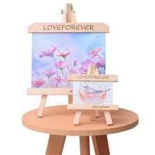 Wooden Table Photo Frame Wedding Picture Frame Baby Photo Frames Freestanding Family Picture Holder Stand Home Decoration