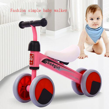 Poussette Hot Sale 9kg Four Wheels Solid Nylon To Russia 2017 New Baby Walkers Four Wheel Equilibrium Car No Treadmill Tricycle