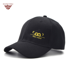 Unisex Fashion Leisure Cotton Embroidery Baseball Caps Custom Cute Monkey Letters Hat Outdoor Sport Sanpback Hats 4 Colors BQ024(China)
