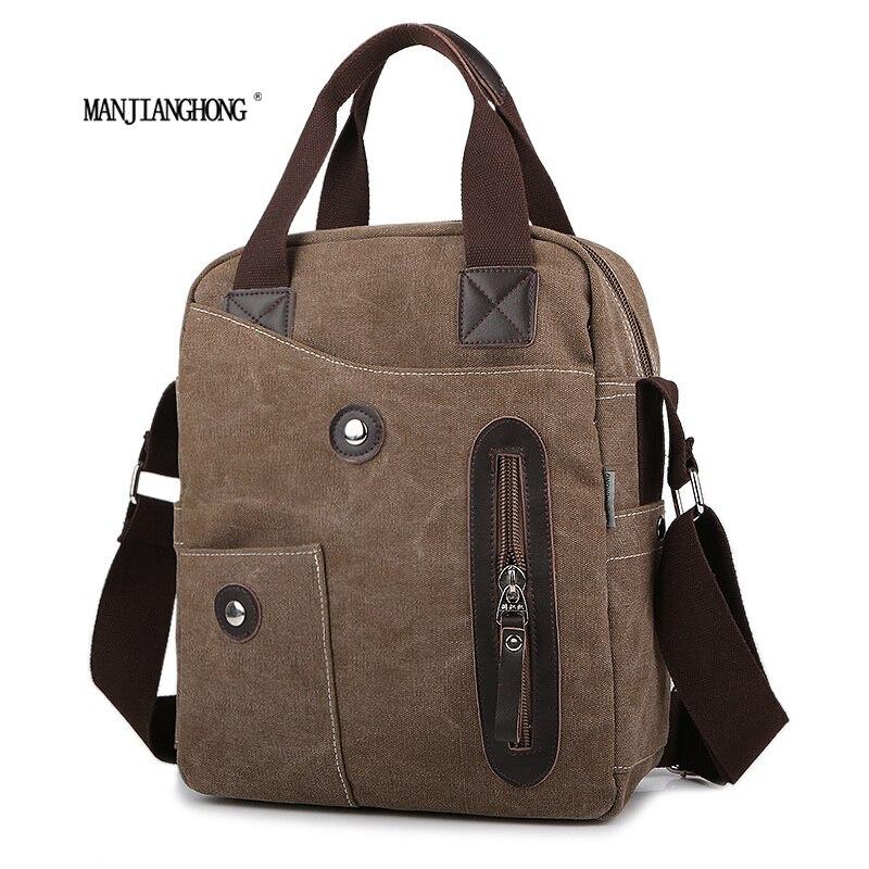 2017 Men Canvas Bags Korean Casual Vertical Men Bag Business Small Shoulder Messenger Bags<br>