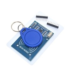 RFID module RC522 Kits S50 13.56 Mhz 6cm With Tags SPI Write & Read for arduno uno 2560(China)