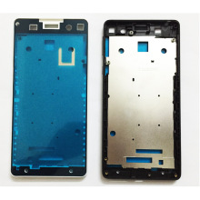 For Sony Xperia E5 F3311 F3313 LCD Front Frame Bezel Housing LCD Screen Holder Frame With Side Button Key High Quality