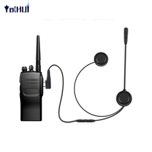 Motorcycle Bicycle Helmet Bluetooth Headset 200m Walkie Talkie PTT Control(China)