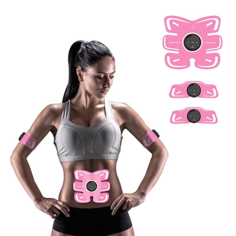 Electric Weight Loss Stickers Body Slimming Belt  Wireless Muscle Stimulator Smart Fitness Abdominal Training Device Massage 30<br>