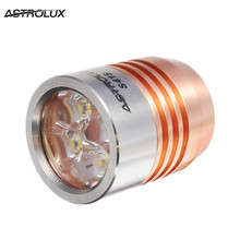 Astrolux S41S S41S Colored Stainless Steel New Version A6 1600LM Nichia 219B/XP-G2/XP-G3 LED Flashlight Head Torch head For DIY