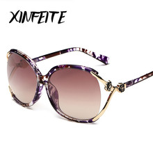 XINFEITE 2017 Luxury Women Sunglasses Brand Fashion Vintage Oculos Hipster Female Sun Glasses Retro Casual Latest Trends Shadow
