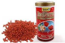 Tetra Red Parrot graules Giant Blood Parrot Gold Blood Parrot fish food float on water canister feeder aquarium(China)
