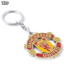 VEIA Jewelry New Hot Fashion Soccer Keychain Five Leagues in Europe's Top Club Football Championship LOGO Metal Keychain for Fan(China)