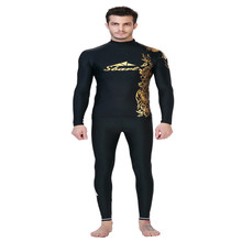 SBART male sun swimsuit surf wear long sleeved jacket snorkeling jellyfish clothes diving suit beanwear T-shirt suit swimwear