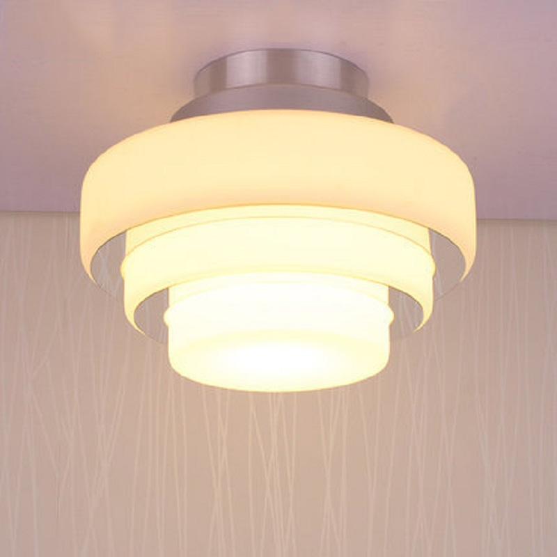 Indoor 5W LED Single Head Ceiling Light Creative Simple Aluminum Luminary Porch Hallway Corridor Aisle Parlor Bedroom Home Decor<br>