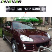 New Hot Sale Universal Temporary Car Parking Card Magnetic Phone Number Card Plate Sucker Car Sticker for Subaru Car Accessories(China)