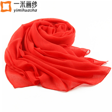 simple solid colors winter warm scarf wraps for women long echarpe foulards femme woman clothing accessories 180*90cm(China)
