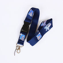 Detroit Tiger Lanyard Neck Strap Keychain For ID Pass Card Badge Key Mobile Phone USB Holder Hang Rope Lanyard Baseball Necklace(China)